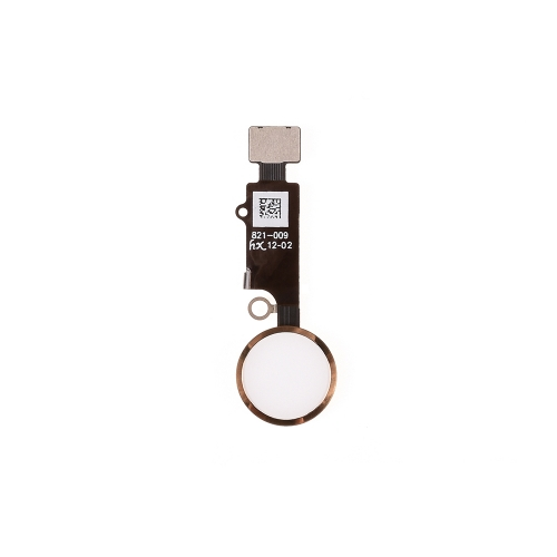 Universal Home Button With Flex Cable Assembly Replacement For iPhone 7/7 Plus/8/8 Plus- Gold - AA
