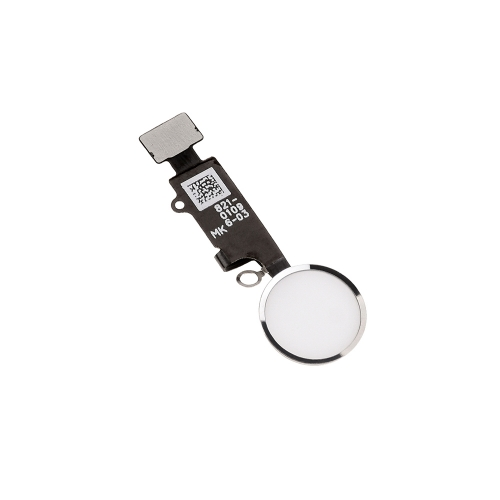 Home Button With Flex Cable Assembly Replacement For Apple iPhone 8/8 Plus - Black/White/Gold -AAA