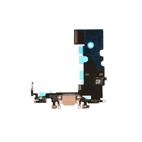 Charging Port Flex Cable Replacement For Apple iPhone 8 - Gold - AAA