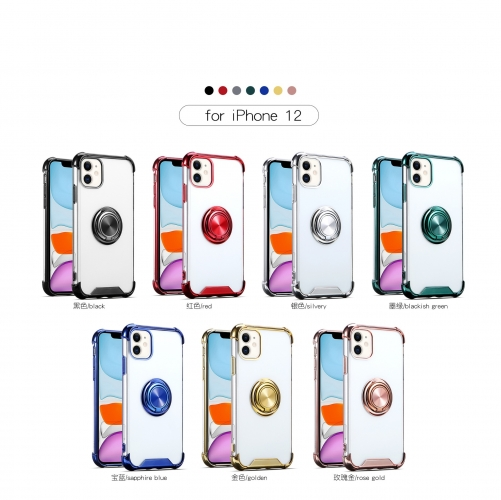 2020 New Style Mobile Phone Shell Protective Case Ring  For iPhone 12
