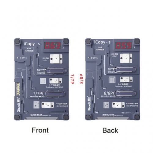Qianli iCopy-S Double Sided Chip Test Stand 4 in1 Logic Baseband EEPROM Chip Non-removal For iPhone 7/7 Plus/8/8 Plus