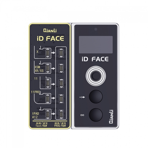 Qianli ID Face Dot Matrix Projector for X XS XSMAX XR 11 11PRO Promax Face ID Problem Checking Reading Writing Repair Programmer