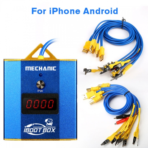 MECHANIC iBoot Box Power Supply Cable for iPhone 66P6S6SP77P88PXXRXs Max Boot Line Motherboard Repair Wire Test Line