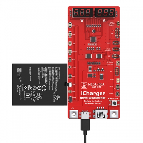 Qianli Icharger Battery Charging Activation Test Board Loses Power With One Click To Activate Overplay iPhone And Android Phone
