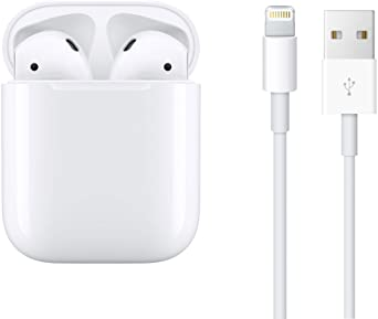 Wireless Headphones for Apple Airpods 2 with Charging Case and Package