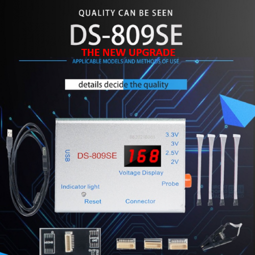 DS 809SE Unlocking Tool EFI PIN PadLock Unlock for Macbook A1706 A1534 iMac Air Repair SPI ROM Read Write for Macbook iCloud S