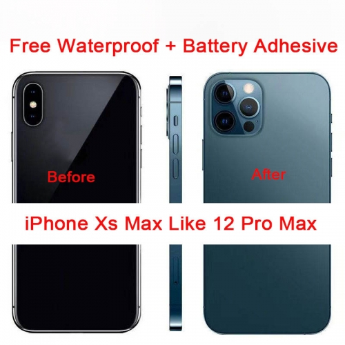 DIY Back Cover Housing For Convert iPhone XS Max into iPhone 12 Pro Max
