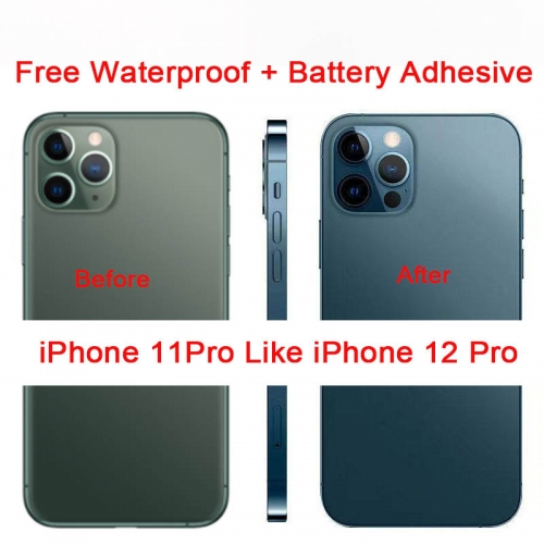 DIY Back Cover Housing For Convert iPhone 11Pro into iPhone 12 Pro