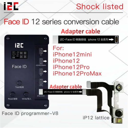 i2C Iface Pro V8 Programmer For Fix iPhone X-12 Pro Max Face ID Not Working