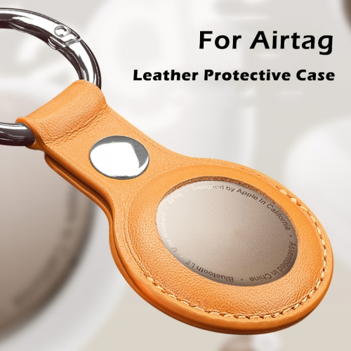 Leather Protective Case For  Apple Airtags