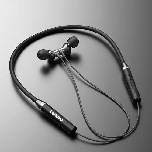 Free shipping Lenovo Earphone Wireless Headset Magnetic Neckband Earphones IPX5 Waterproof Sport Earbud with Noise Cancelling Mic
