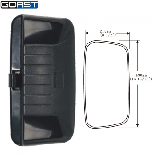 Automobiles Car-Styling Reflector Rearview Mirror Side Mirror Exterior Assembly rectangle for Dongfeng Sitaier truck