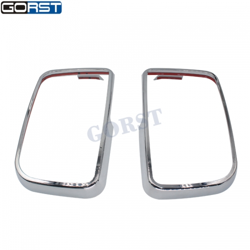 Rearview Mirror Inner Frame Dec Trim Cover For Benz Trucks Car Parts