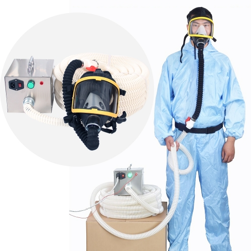 Constant Flow Supplied Air Respirator Airline Respirator System & Full Face Gas Respirator