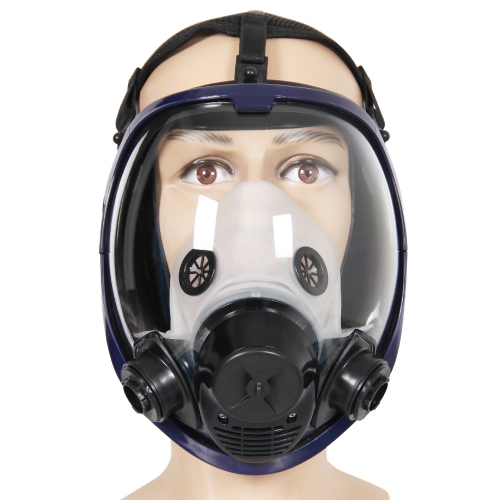 2 in 1 Function 6800 Full Face Respirator Mask Full Face Gas Mask Facepiece For Spraying Painting and Chemical Use