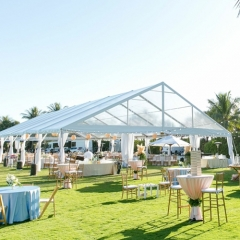 Tent for Wedding Event Grass and Garden Wedding