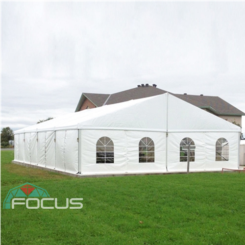 White Large Marquee Tent with Church Window