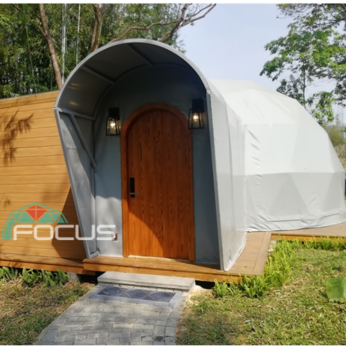 Dome Tent for Hotel Hotel in Camping Resort