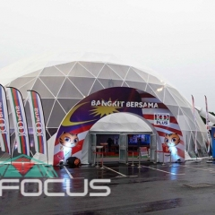 20m 30m Professional Outdoor Large Dome Tent for Official Events