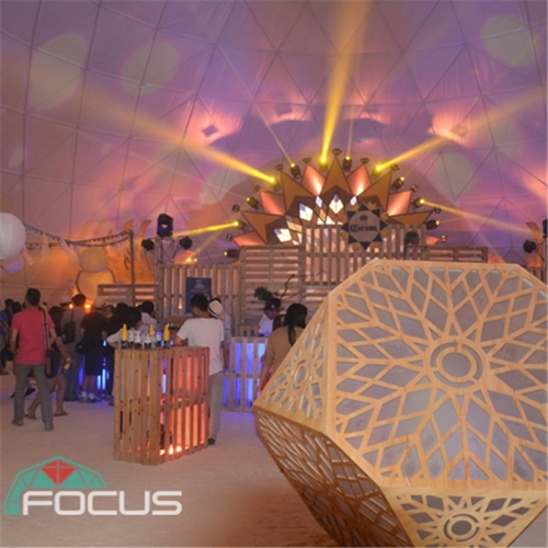 35m Diameter Large Geodesic Dome Tent for Beer Festival