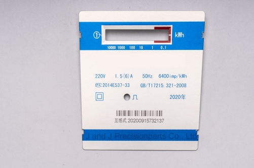 faceplate-of-electronic-meter