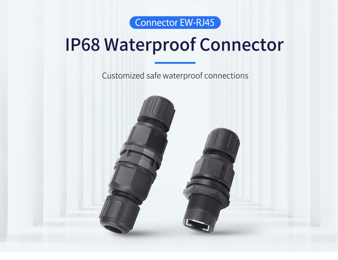Waterproof RJ45 Connector