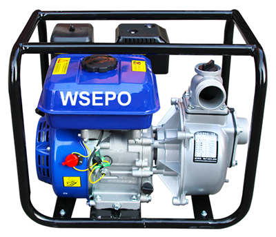 WSE50 2 IN. Self-Priming Aluminum Gasoline Small Water Pump Set