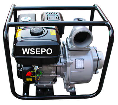 WSE100 4 IN. Self-Priming Aluminum Gasoline Small Water Pump Set