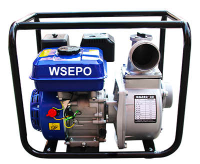 WSE80 3 IN. Self-Priming Aluminum Gasoline Small Water Pump Set