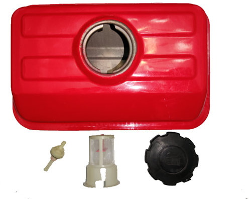 Fuel Tank Assy. W/ Filter Mesh, Cap and Nozzle For China Model 152F 2.5HP 97CC Small Gasoline Engine