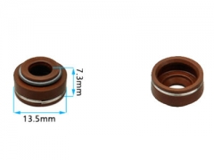 10XPCS Valve Stem Oil Seal Fits for China 182F 188F 190F GX390 GX420 11HP~16HP Small Gasoline Engine