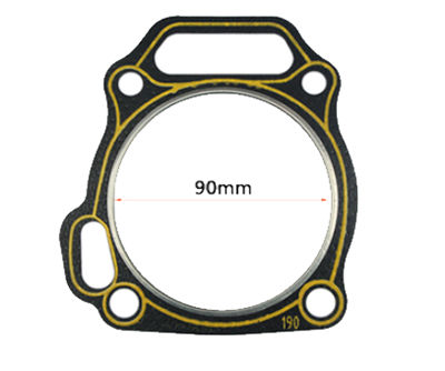 5X PCS Head Gasket Packing ID Size 90mm Fits for China 420CC 190F GX420 16HP Small Gasoline Engine