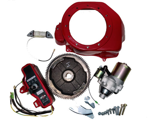 Electric Start Rebuild Kit Fits for China 168F 170F GX160 GX200 163CC~212CC 5.5hp~7.5hp Small Gasoline Engine