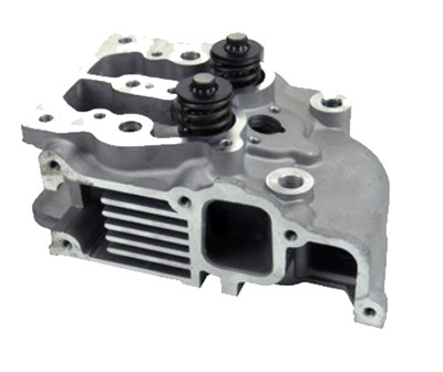 Cylinder Head Assy. W/ valve and springs assembled Fits for China Model 188F 190F 11HP Small Air Cooled Diesel Engine