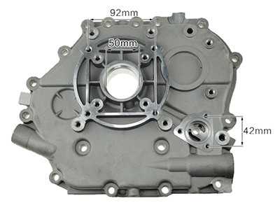 Crankcase Side Cover Fits for China Model 188F 190F 11HP Small Air Cooled Diesel Engine