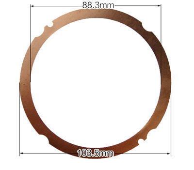 3XPCS Cylinder Round Sealing Gasket Fits for China Model 188F 11HP Small Air Cooled Diesel Engine