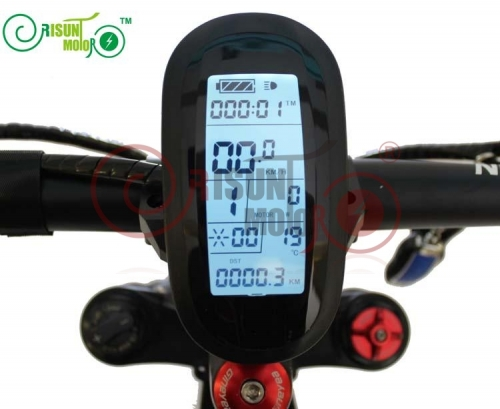 24V/36V/48V Ebike Intelligent LCD Control Panel LCD6 Display For Our Controller