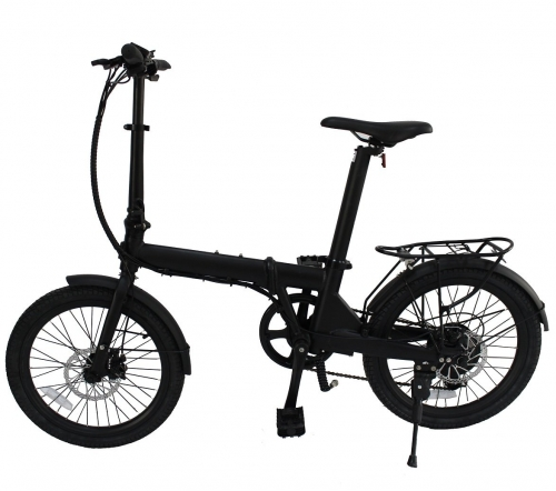 36V 250W 20 Inch Folding eBike with Seatpost Built-in Battery, Light Weight