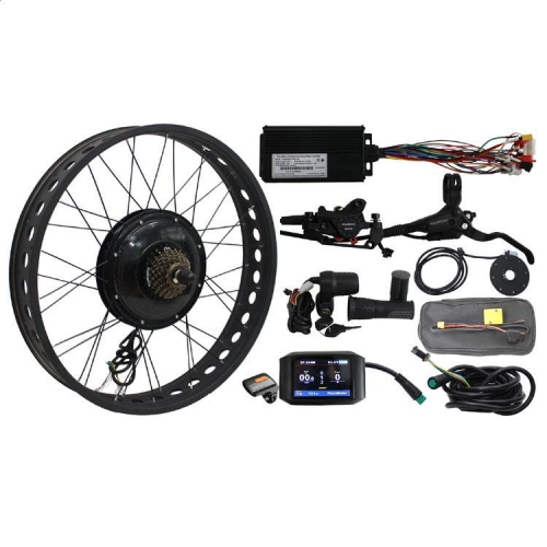 36V-72V 1000W Fat Tire eBike Conversion Kits