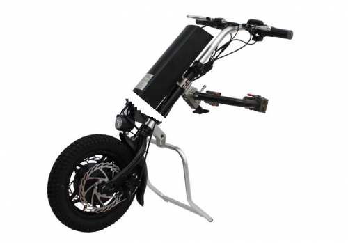 36V 250W/350W/500W 16inch Electric Handcycle Wheelchair Tractor Conversion Kits with Battery