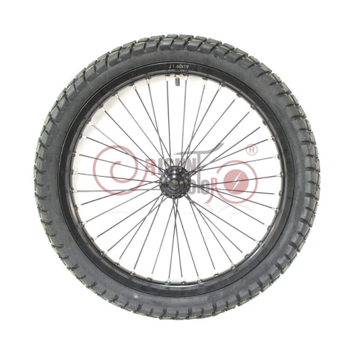 "eBike 19""Motorcycle Wheel Front Wheel Matching 3000W-5000W Rear Wheel Conversion Kits"