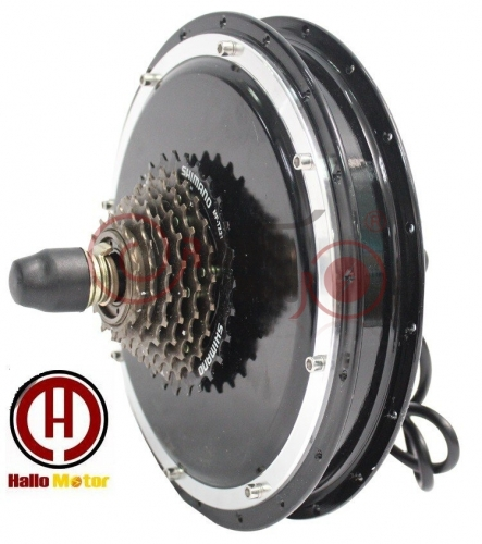 36V/48V 750W eBike Brushless Gearless Hub Motor for Front Wheel 110mm / Rear Wheel 135mm