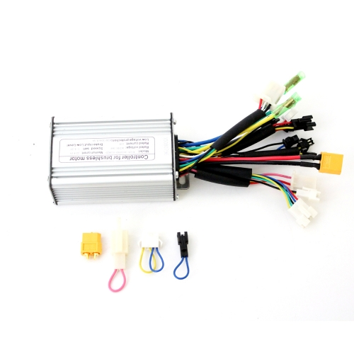 24V/36V/48V 250W/350W/500W 20A eBike Brushless DC Controller support Regenerative Function
