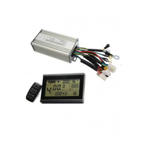 24V/36V/48V 350W/500W/7500W 25A eBike Brushless DC Controller with LCD3 Display