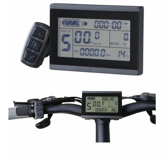 E-bike 36V//48V 500W//750W 25A Brushless DC Sine Wave Controller LCD3 display