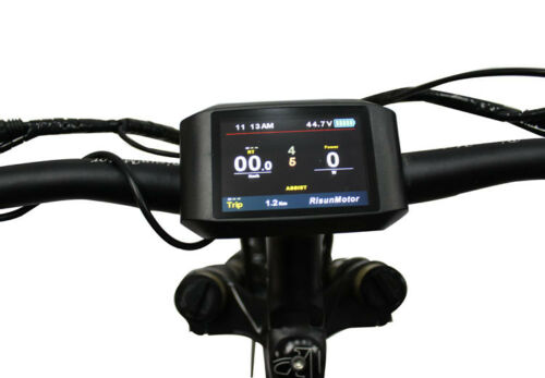 24V/36V/48V/52V TFT750C Colorful Display for our sabvoton controller Electric Bike