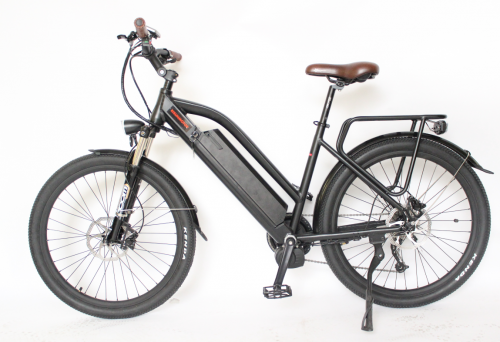 EU shipping 48V 500/1000W bafang Mid Drive Motor MTB Electric Bicycle + Ebike 48V 12.5AH Lithium Ion Battery