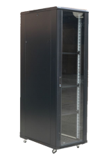 42U Floor Standing Server Rack (Front Glass door)