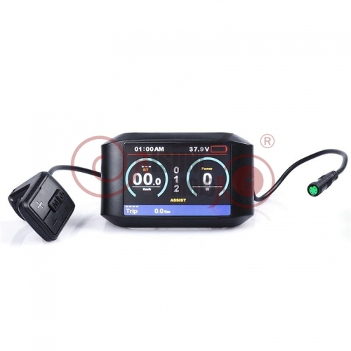 24V/36V/48V/52V TFT750C Colorful Display for Bafang Mid-Drive Kits