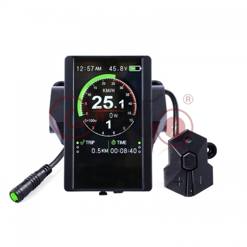 24V/36V/48V/52V TFT850C Colorful Display for Bafang Mid-Drive Kits